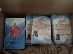 The Camille Chronicles shipped box 080614